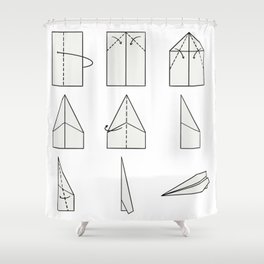 How to fly away? Shower Curtain