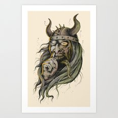 The Viking Art Print
