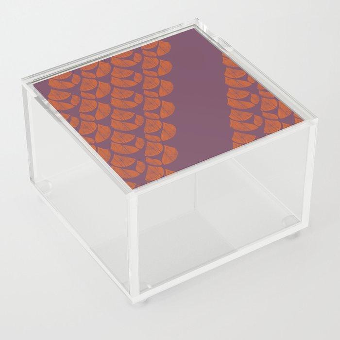 Orange Drops Acrylic Box