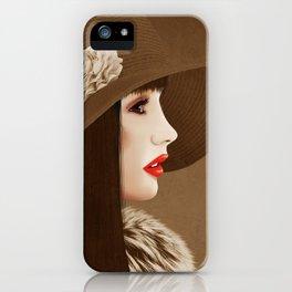 Heavenly Latte Macchiato iPhone Case