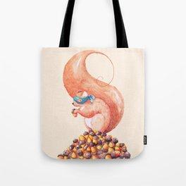 The Bandit Squirrel Tote Bag