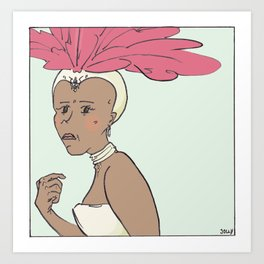 Carnivalesque 3 Art Print