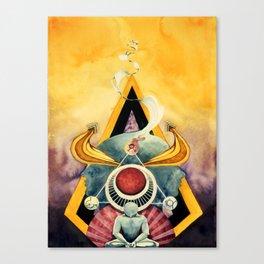Energy Transmutation Canvas Print