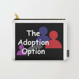 """""""The Adoption Option"""" TV Show Logo Carry-All Pouch"""