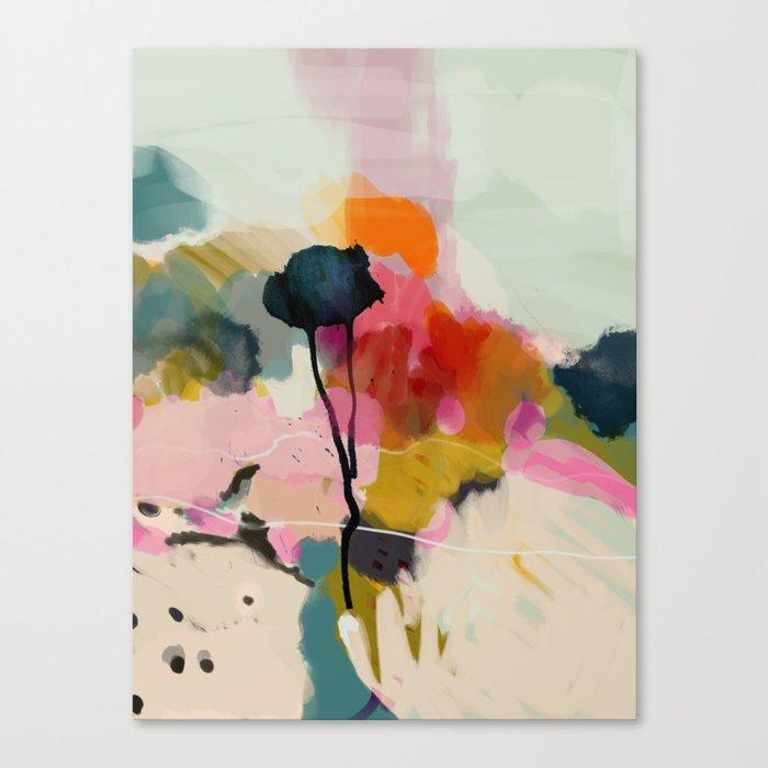 paysage abstract Leinwanddruck
