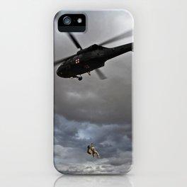 Suspended Between Worlds iPhone Case