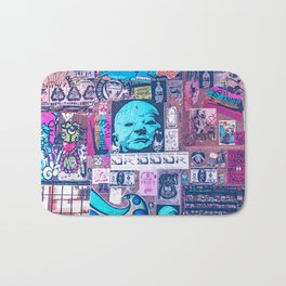 Seattle Post Alley Pop-Art Bath Mat