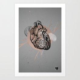 Oh My Heart Art Print