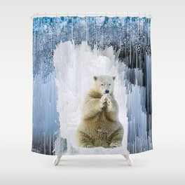 The Ice King Shower Curtain