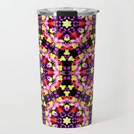 Tiny Floral Pattern Travel Mug
