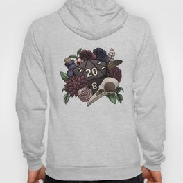 Necromancer D20 Tabletop RPG Gaming Dice Hoody