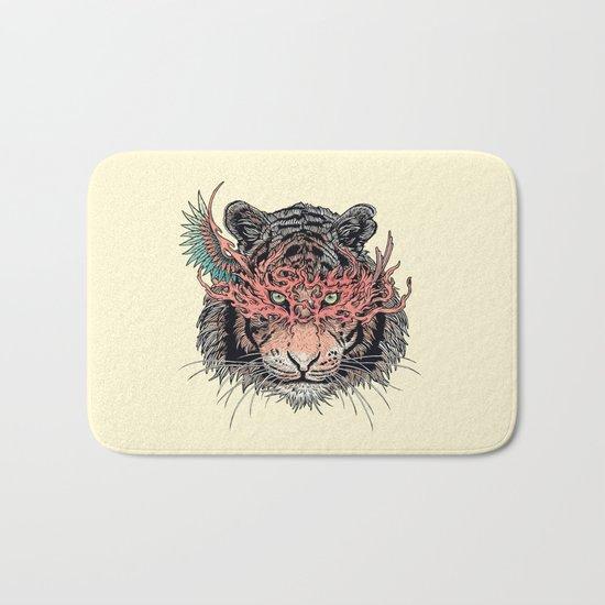 Masked Tiger Bath Mat
