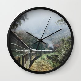 Train Rides in Sri Lanka Wall Clock