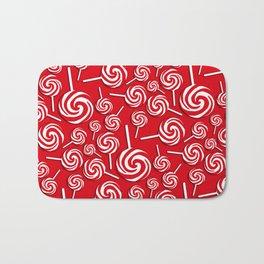 Candy Swirls-Large Bath Mat