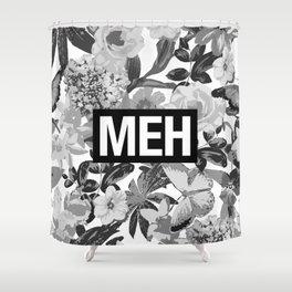 MEH B&W Shower Curtain