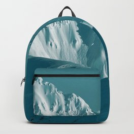 Alaskan Mts. I, Bathed in Teal Backpack