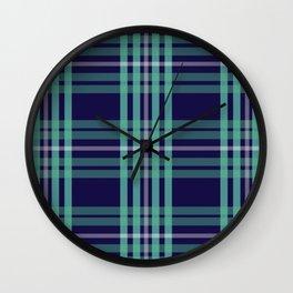 Plaaid 2 Wall Clock