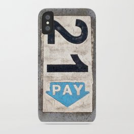 21 Pay iPhone Case