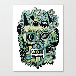 Double Je Canvas Print