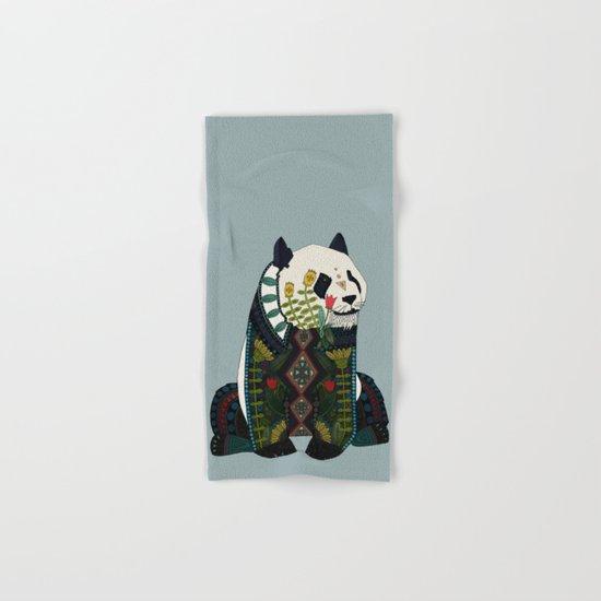 panda silver Hand & Bath Towel