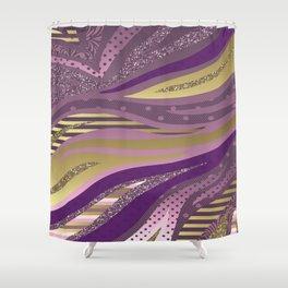 Royal Glam Shower Curtain
