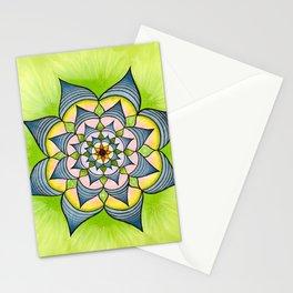 Spring has Sprung Mandala Stationery Cards