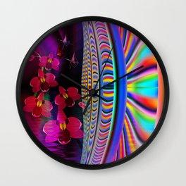 Faraway world Wall Clock