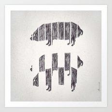 Secetur porcus Art Print
