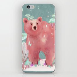 beary nice to meet you iPhone Skin