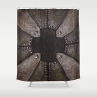 steampunk Shower Curtains featuring Steampunk by PiliArt