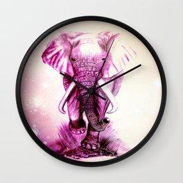 MYSTICAL ELEPHANT Wall Clock