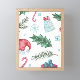 Seasonal Patterns Framed Mini Art Print