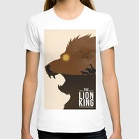 simba T-shirts featuring The Lion King by Rowan Stocks-Moore