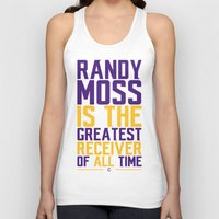 randy c Tank Tops featuring Randy Moss by Couch Coaches