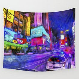 Times Square Van Gogh Wall Tapestry
