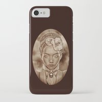 "victorian iPhone & iPod Cases featuring ""VICTORIAN GHOST"" by Giulio Rossi"