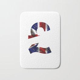 British Flag British England Great Britian Bath Mat