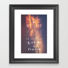 One Direction: Story Of My Life Framed Art Print