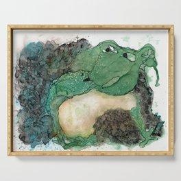 Happy Froggie Mom Serving Tray