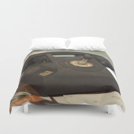 The Old Telephone Duvet Cover