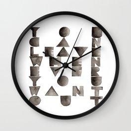 Relator  Wall Clock