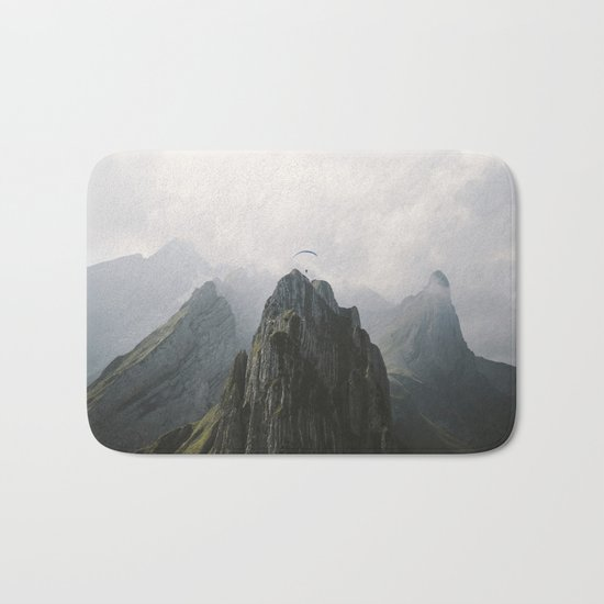 Flying Mountain Explorer - Landscape Photography Bath Mat