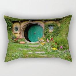 Green Magical Home, New Zealand Rectangular Pillow