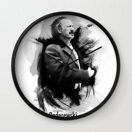 Ignacy Jan Paderewski - Polish Prime Minister, Polish Pianist Wall Clock