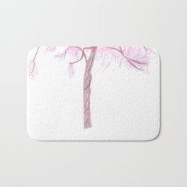 Blush Rising Tree  Bath Mat