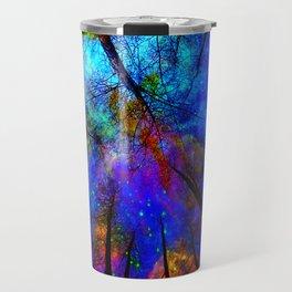 Colorful forest Travel Mug