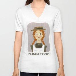 Redhead power - Anne of Green Gables Unisex V-Neck
