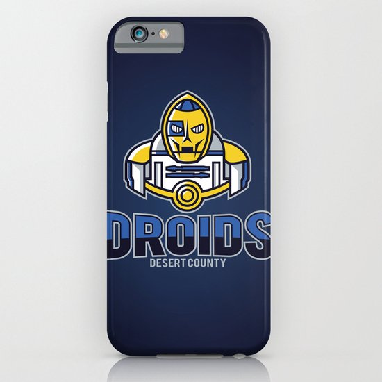 Desert County Droids - Navy iPhone & iPod Case