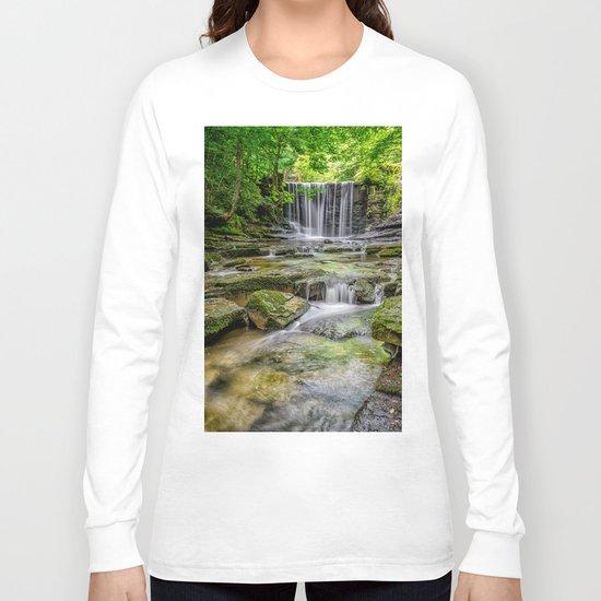 Clywedog Waterfall Long Sleeve T-shirt