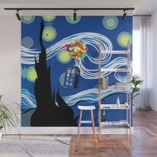 Tardis Wall Mural Dr Who Inside of Tardis Mural Dans Room Pinterest